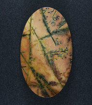 Gorgeous Dendritic Feather Jasper Designer Cabochon   #16017