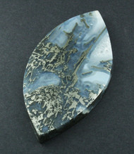 Gorgeous!! Rare Nipomo Marcasite Agate Collectors Cabochon #16026