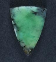 Bright Dendritic Yerilla Chrysoprase Designer Cabochon #16049