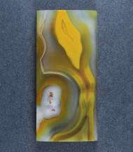 Top shelf Yellow/Orange Condor Agate Designer Cabochon-   #17027