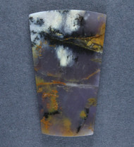 Gorgeous Purple Amethyst Sage Dendritic Agate Cabochon  #17036