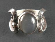 Moonstone and Sterling Silver Ring r0008