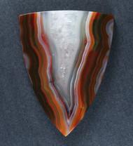 Top shelf Red and Orange Condor Agate Designer Cabochon-   #17090