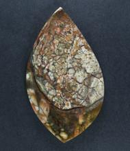 Amazing Chapenite Brecciated Jasper Cabochon   #17245