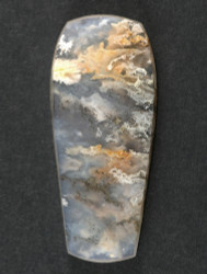 Gorgeous Graveyard Point Plume Agate Cabochon  #17259