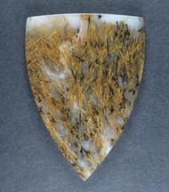 Gorgeous Designer Cabochon of Nipomo Sagenite Agate  #17270