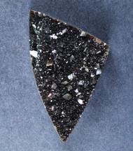 Brilliant Iridescent Black Coffee Druzy    #17307