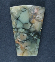 Gorgeous Chapenite Brecciated Jasper Cabochon   #17358