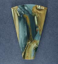 Outstanding Blue Mountain Jasper Designer Cabochon  #17398