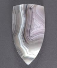 Gorgeous Laguna Agate Cabochon - Soft Purple and White