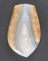 Gorgeous Cabochon of Owls Hole Sagenite Agate