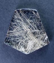 Fantastic! Rutilated Quartz Cabochon -w- Golden Needles 14315