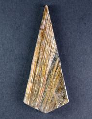 Fantastic! Rutilated Quartz Cabochon -w- Golden Needles 14319