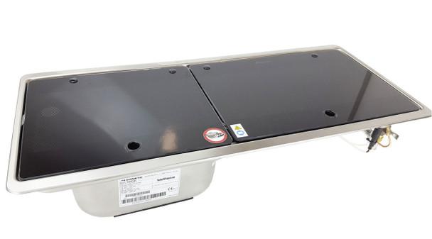 Dometic MO9722L Slim 2-Burner Hob / Sink Combination with Glass Lids