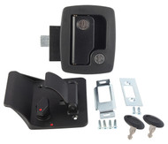 AP Products 013-520 RV Entrance Lock w/ Keys - Black