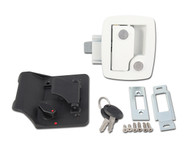 AP Products 013-534 RV Entrance Lock w/ Keys - White
