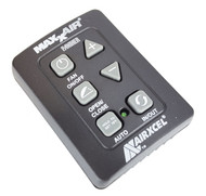 Maxxair 00A03650K 6 Button Remote Control for Maxxfan Plus and Deluxe -Black