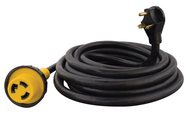 Mighty Cord A10-3025EDBK Outdoor 30 Amp RV Power Extension Cord - 25 Ft.