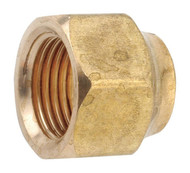"""AMC 704018-08 Brass Flare Forged Nut Fitting - 1/2"""""""
