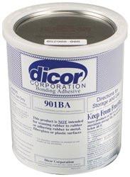901BA  Dicor Rubber Roofing Bonding Adhesive 1 Quart