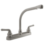 Dura PK210C-SN Classic Hi-Rise RV Kitchen Faucet Satin Nickel
