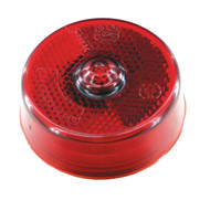 ECO 140065R LED Marker / Clearance Round Light - Red