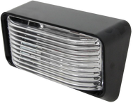 ECO P500C Standard RV Exterior Porch / Utility Light - Black - Incandescent