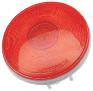 """ECO 1TL4R Trailer Tail Light 3-Function 4"""" Round - Red"""