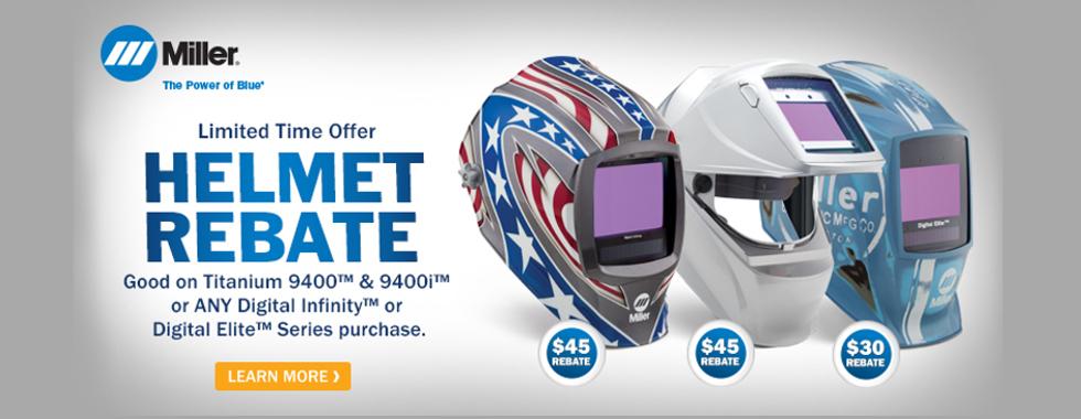 Miller Helmet Rebate