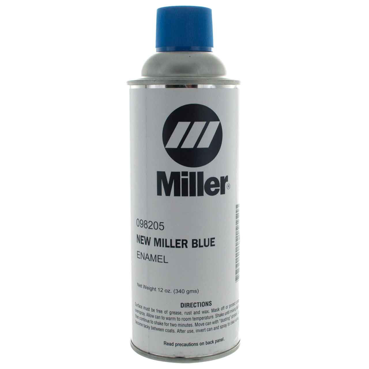 Miller 098205 paint spray can enamel blue miller 12 oz can Paint with spray can