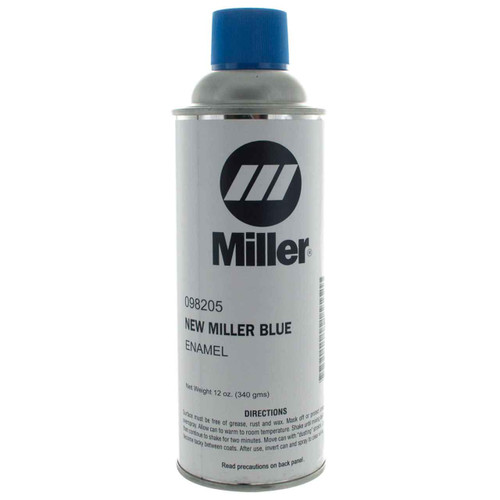 Miller 098205 Paint Spray Can Enamel Blue Miller 12 Oz Can