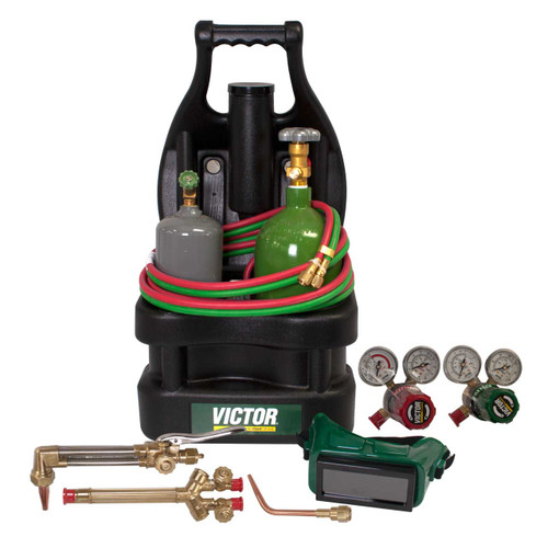 Victor 0384-0944 G150-100-CPT Portable Tote Outfit with Tanks