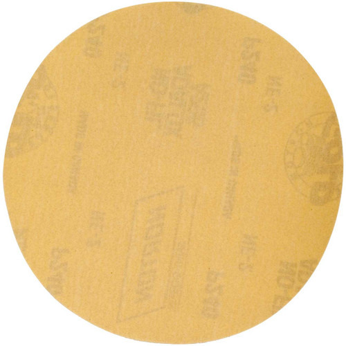 Norton 63642506230 6 in. Gold Reserve Coated Paper Discs, P320 Grit | PKG = 50
