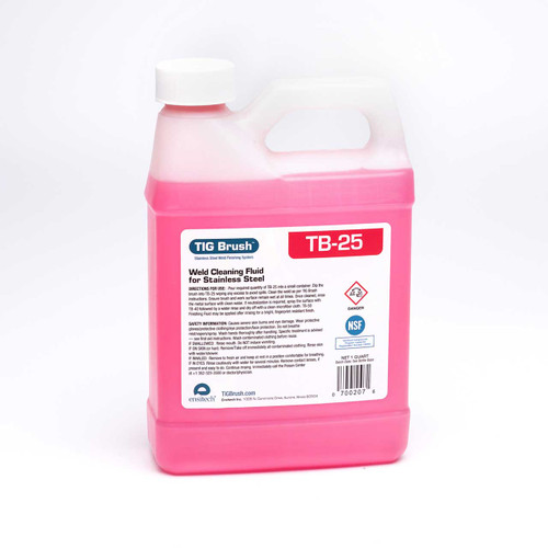 Ensitech C0025-001Q TB-25 Weld Cleaning Fluid 1 Quart
