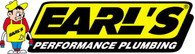 Earl's Performance Accessories, -10 Super-Stock Replace. Sleeve Bright Dip Black, Part #AT798011ERLP