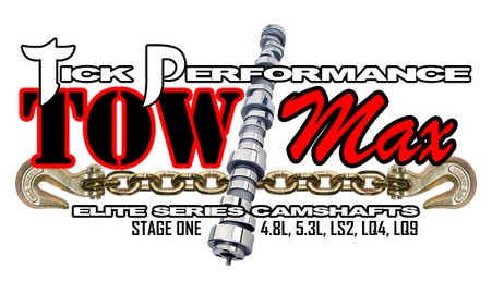 Tick Performance towMAX Stage 1 Camshaft for 4.8L, 5.3L, LS2, LQ4 & LQ9 Engines