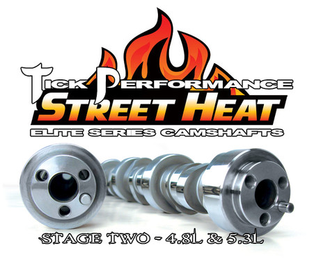 Tick Performance Street Heat Stage 2 Camshaft for 4.8L & 5.3L Engines