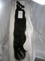 "22""24""26""28"" 4 Bundles Unprocessed 100% Virgin Brazilian Natural Wave Human Hair Weave Extensions"