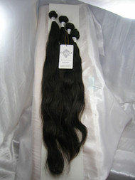 "18""20""22""24"" 4 Bundles Unprocessed 100% Virgin Brazilian Natural Wave Human Hair Weave Extensions"