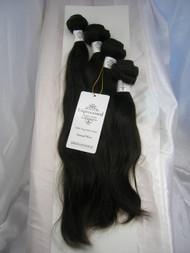 "10""12""14""16"" 4 Bundles Unprocessed 100% Virgin Brazilian Natural Wave Human Hair Weave Extensions"