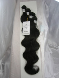 "18""20""22""24"" 4 Bundles Unprocessed 100% Virgin Brazilian Body Wave Human Hair Weave Extensions"