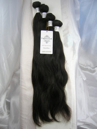"16""18""18""20"" 4 Bundles Unprocessed 100% Virgin Brazilian Natural Wave Human Hair Weave Extensions"