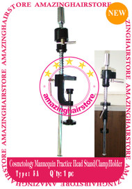 Cosmetology Mannequin Practice Heads Holder/Stand/Clamp -5A