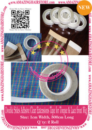 2pcs High Quality Double Sides Adhesive Extension Tape for Skin Weft Tape Hair Extensions