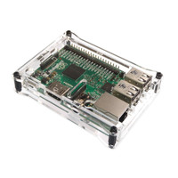 Raspberry Pi 3, 2 and B+ Clear Acyclic Case Protector