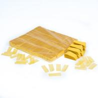Yellow biofetti - 1kg bag