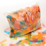Multicolour Biodegradable Confetti - 1kg bag