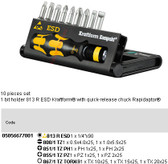 05056677001 WERA KRAFTFORM KOMPAKT 10 (10PC SET) ESD