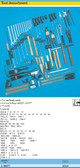 HAZET 0-1900/77 TOOL ASSORTMENT FOR CAR BODY WORK