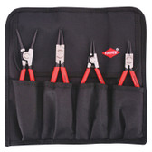 "9K 00 19 51 US Knipex 4 PC.  CIRCLIP ""SNAP-RING"" SET IN POUCH"